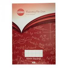 A1 Rhino Numeracy Flip Chart Pad Pack Of 5