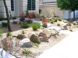 Desert Backyard Designs Impressive Desert Landscaping Ideas For Front Yard Front Yard Desert