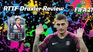 A ridiculously fun card to use. | 88 rated FREEZE Marco Verratti | FIFA 21  Review