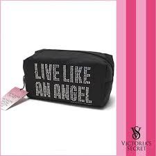 victoria 39 s secret angel wings cosmetic bag make up pouch smartphone