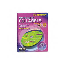 Avery Labels Dvd Avery Labels For Cd Stomper Pro Cd Dvd Labeling System White Matte
