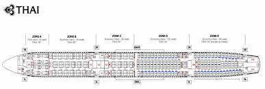Airbus A330 Seating Chart Thai Airways Thai Airways Airlines Airbus A340 600 Aircraft Seating Chart