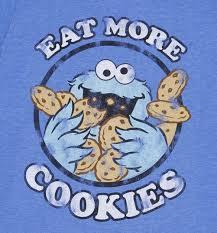 cookie monster eating cookies wallpaper. Modren Cookies Mens Cookie Monster Eat More Cookies Shirt Print Eating To Wallpaper 0