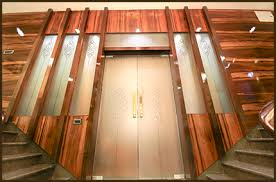 temple glass door shree rangkala