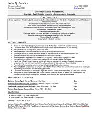 Customer Service Resume Template Free Gorgeous Customer Service Resume Sample Free Resume Template Professional