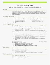 Amazon Web Services Resume Resume Template
