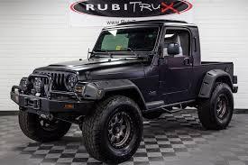 Pre-Owned 2004 Jeep Wrangler RubiTrux Conversion Flat Black
