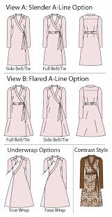 Wrap Dress Pattern Amazing PatternReview 48 Claire Wrap Dress