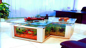 fish aquarium tables fish tank dining table
