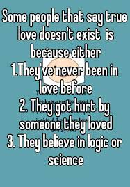 Love Doesn T Exist Quotes