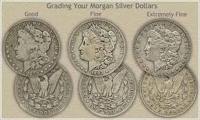 Dollar Coin Value Chart Morgan Silver Dollar Grading My Nerdy Side Morgan Silver