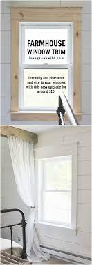 Doorway Trim Molding Best 25 Farmhouse Trim Ideas On Pinterest Window Casing