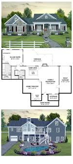 cool house plan id chp 45369 follow the steps down to the basement
