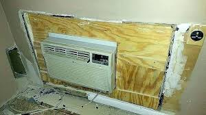 through the wall air conditioner sleeve through the wall air conditioner sleeve rep installation sizes installing wall air conditioner sleeve through wall