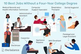 Best Professions 10 Best Jobs Without A Four Year College Degree