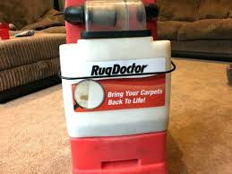hire rug doctor carpet cleaner how much does