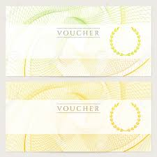 gift certificate voucher coupon template colorful rainbow gift certificate voucher coupon template colorful rainbow guilloche pattern watermark background for banknote