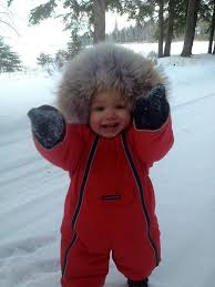 Things are getting cute  CanadaGoose  Baby  Microfashion