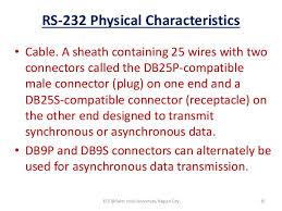 datacom module uart usrt serial interface modem rs 232 physical characteristics bull cable