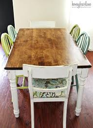 refinished dining room table how to refinishing wood for your ideas modern design refinish cost