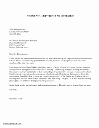 Medical School Interview Thank You Letter Sample Green Brier Valley