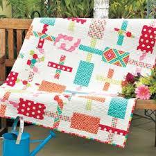 Funfetti: Fat-Quarter-Friendly Simple Modern Quilt Pattern ... & America Makes Fast Quilts - Fat Quarter Shops Jolly Jabber Adamdwight.com