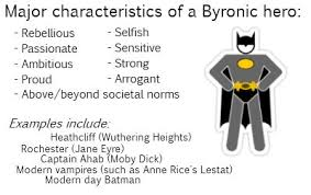 major characteristics of a byronic hero byronic heroes major characteristics of a byronic hero byronic heroes byronic hero teacher and literature