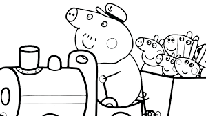 Pig Coloring Book Coloring Pages To Print Off Pig Colouring Book