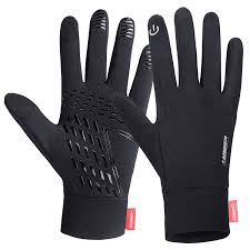 : Lanyi Running <b>Gloves</b> Lightweight <b>Cycling</b> Sports Work Black ...