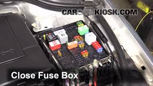 replace a fuse 2008 2015 audi tt 2008 audi tt 2 0l 4 cyl turbo 6 replace cover secure the cover and test component