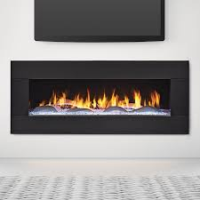 heat glo primo with black granite surround and interior