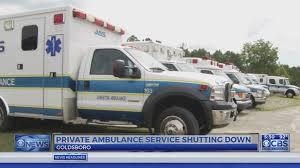 Johnston Ambulance Service Nearly 400 Out Of A Job As Goldsboro Based Ambulance Service Closes