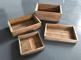 vintage wooden seed trays designs