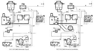 chicagoland mg club tech tips fuel gauge callibration  ammeter installation diagram for 1971 1972 mgb