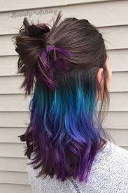 Hairstyle Color today rainbow hair is available for brunettes as well and there 3881 by stevesalt.us