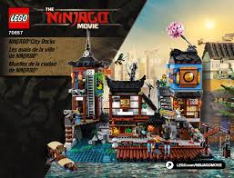 Ninjago City Docks 70657 LEGO information LEGO instructions 2 page