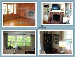 painting wood paneling painting wood paneling before and after painting over wood paneling basement