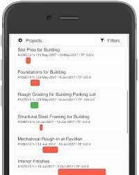 Gantt Chart Mobile Home Sitewalker