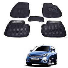 Kozdiko <b>Car 3D</b> Mats Foot Mat Black Color Set of <b>3 Pcs</b> for Hyundai ...