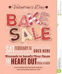 Bake Sale Flyer Templates Free Valentines Day Bake Sale Flyer Template Download From Over