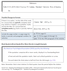 How Do I Use Apa In Text Citations Cwi