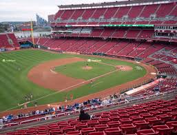 Reds Seating Chart Mezzanine Great American Ball Park Section 414 Seat Views Seatgeek
