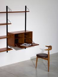 desk systems home office. poul cadovius teak wall unit with desk for royal system pertaining to furniture systems home office
