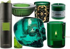 candles home decor with others emerald green home decor