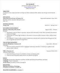 College Resume Template Custom Resume For College Freshman