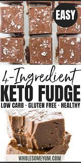 Even my 8 year old whips this up. Easy Keto Fudge Recipe With Cocoa Powder 4 Ingredients Fudge Recipes Cocoa Powder Recipes Cocoa Powder Fudge Recipe
