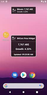The widget does this by pulling. Bitcoin Price Widget For Android Apk Download