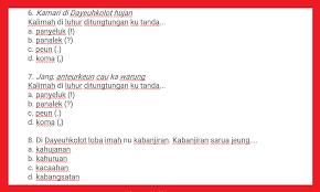 What job would dina apply for? Soal Pat Bahasa Sunda Kelas 3 Semester 2 Tahun 2021 Info Pendidikan Terbaru