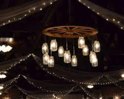 wagon wheel lighting fixtures. simple wagon alternating wagon wheel mason jar chandelier large to lighting fixtures i