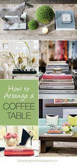how to arrange a coffee table 4